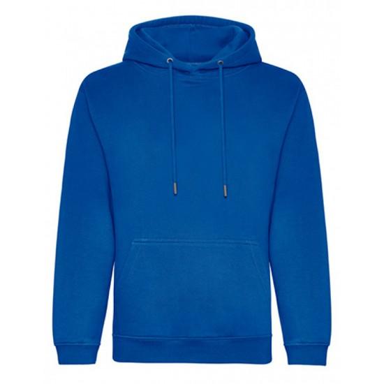 Organic Hoodie Maat XS (Koninklijk Blauw)