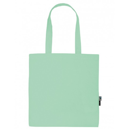 Shopping Bag with Long Handles (Stoffige Munt)